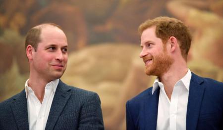 Принц Уильям необычным образом поддержал младшего брата накануне похорон дедушки