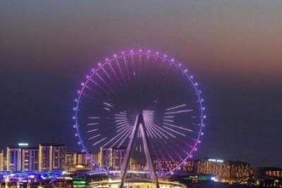Самое большое колесо обозрения в мире открыли в Дубае: видео